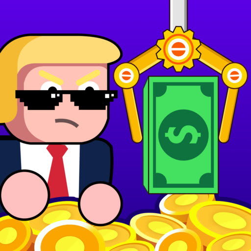 Make Money - Donald's coins, idle & click game