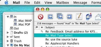 Mail Type Select