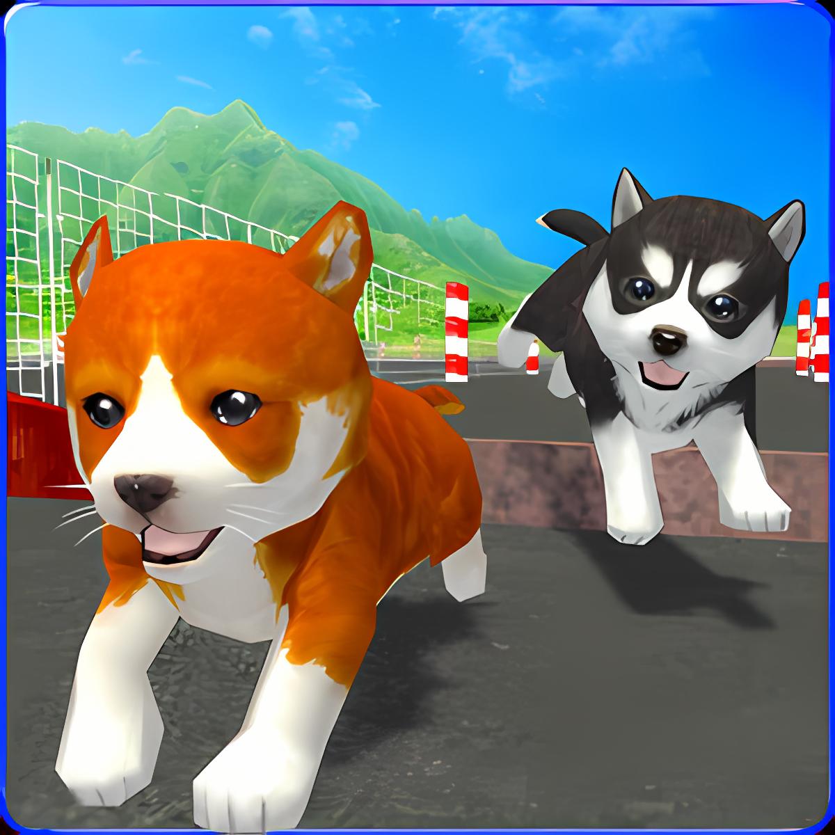 Cute Puppy Dog Racing Sim 2017
