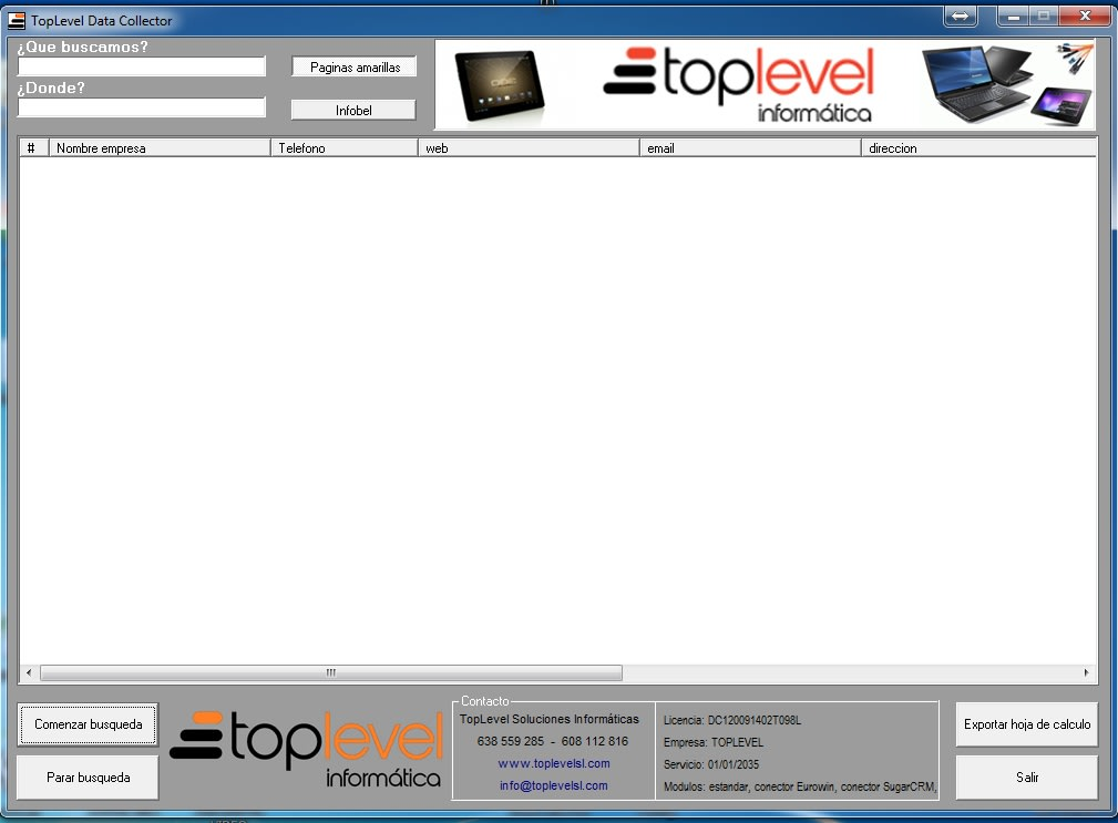 Web Data Collector