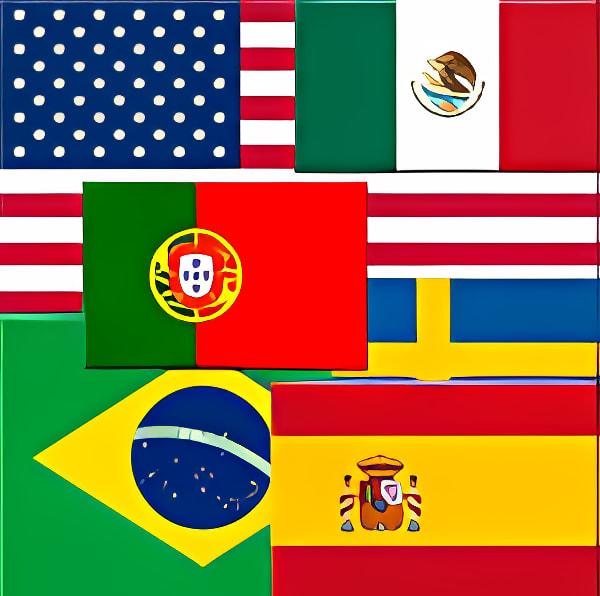Adivina las banderas del mundo