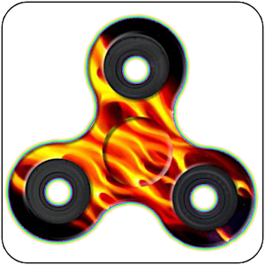 Fidget Hand Spinner Fire Suit