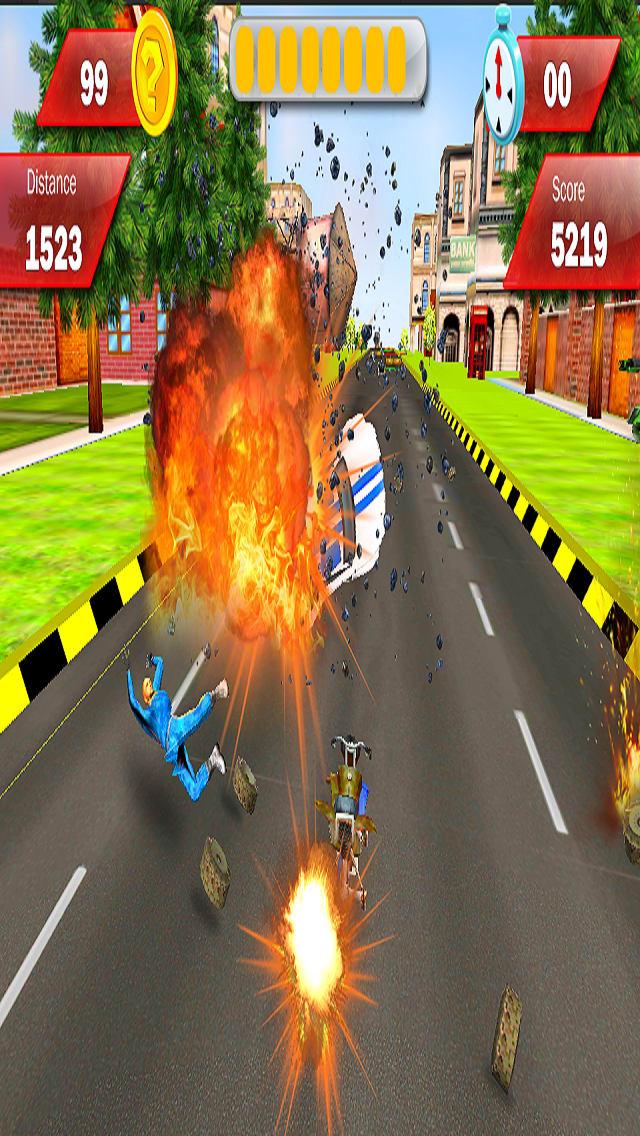 Modern Armored : Bike Attack