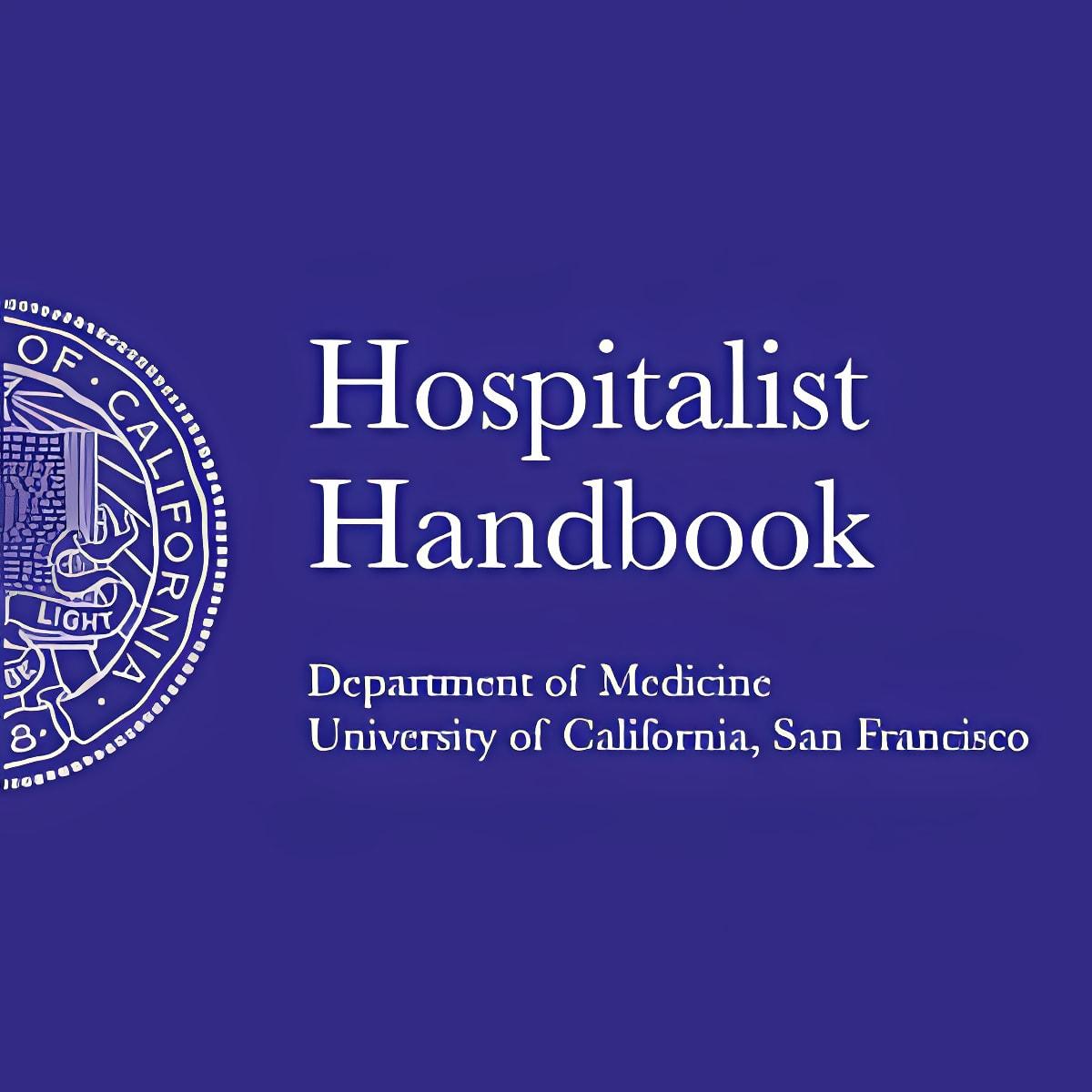 Hospitalist Handbook 6.0.0