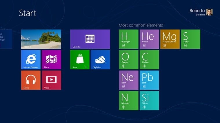 Periodic Table for Windows 10