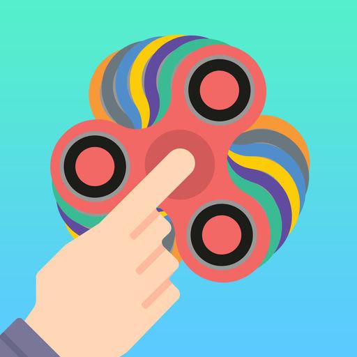 Tappy Fidget Spin