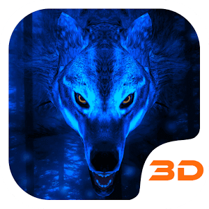 Ice Wolf 3D Theme for S7 1.4.0
