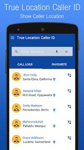 True Location Caller ID