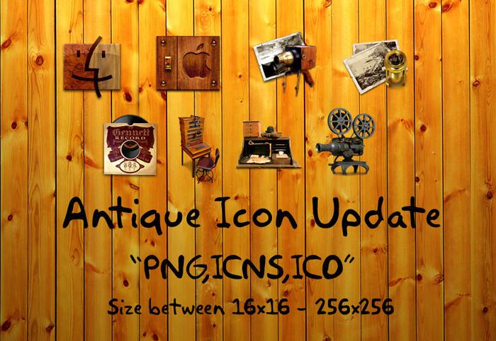 Antique Icon update