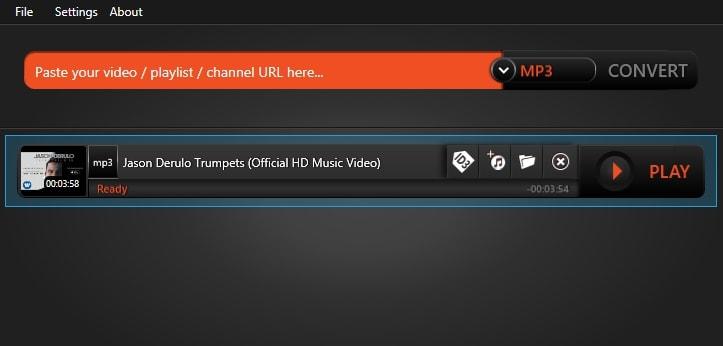 Flvto Online Video Converter for Windows