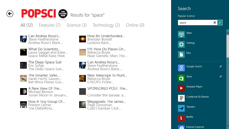 Popular Science voor Windows 10