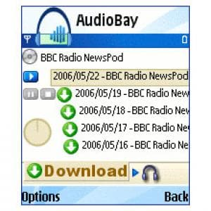 AudioBay Podcast Player