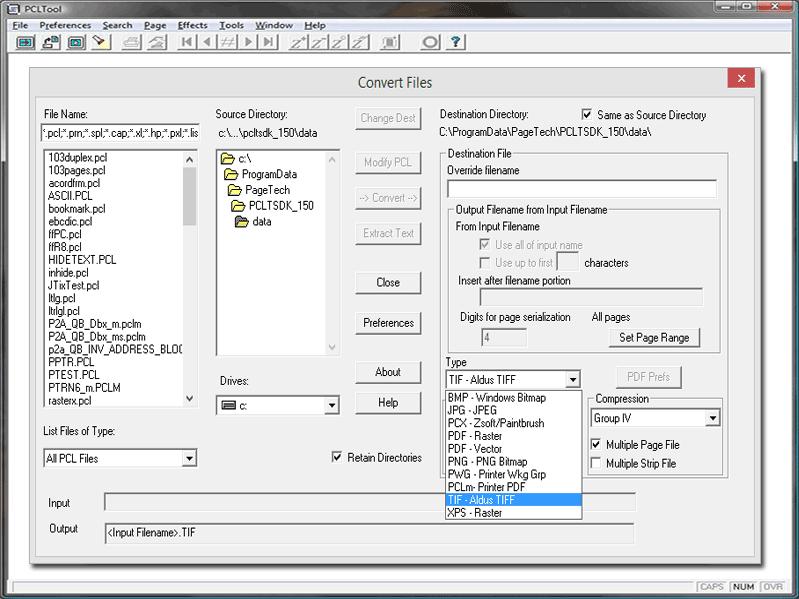 PCLTool SDK 32-bit