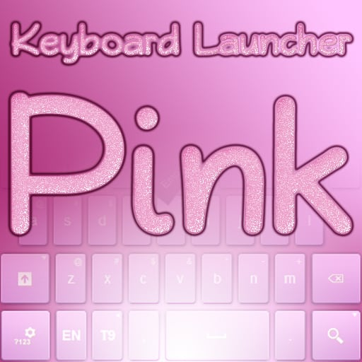 Keyboard Launcher Pink
