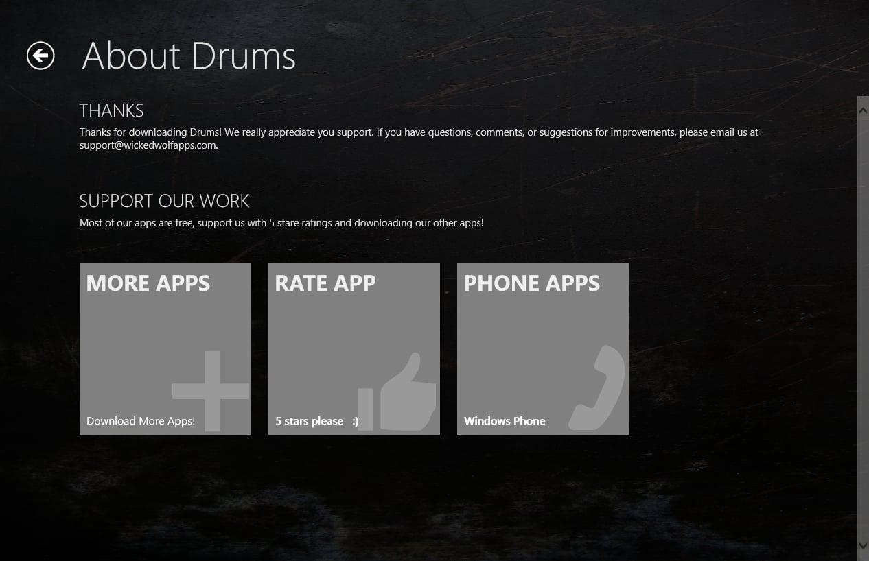 Drums para Windows 10