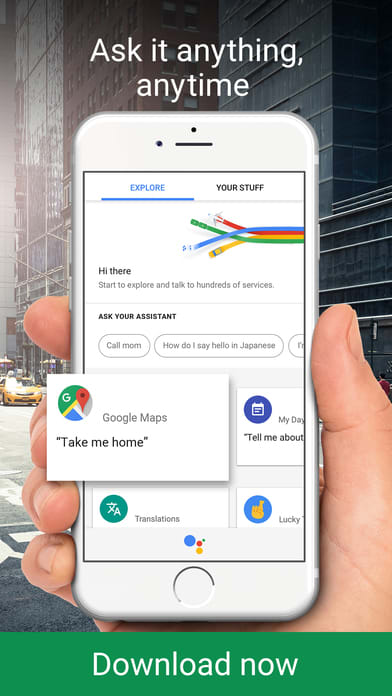 The Google Assistant -- get help anytime, anywhere