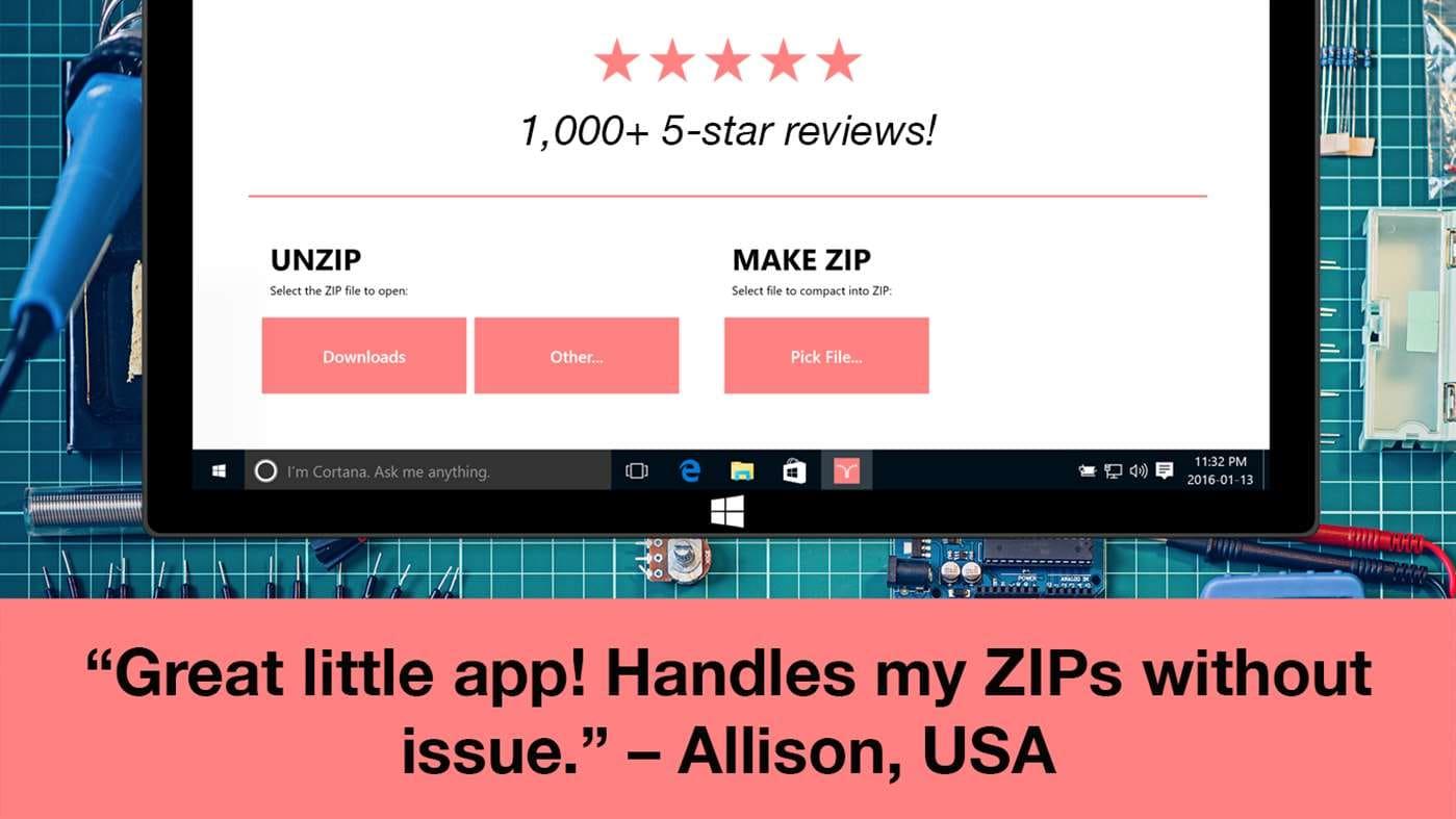 Zip Opener