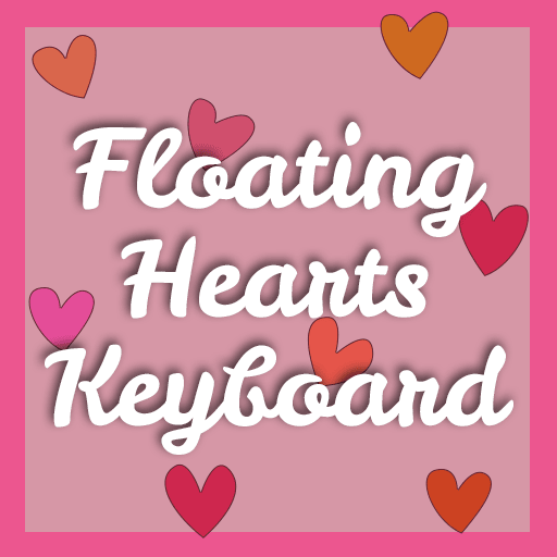 Floating Hearts Keyboard
