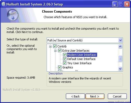 Nullsoft Scriptable Install System (NSIS)