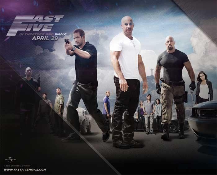 Fast & Furious 5 Wallpaper