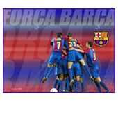 Colors Blaugrana Wallpaper
