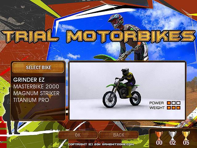 Trial Motorbikes