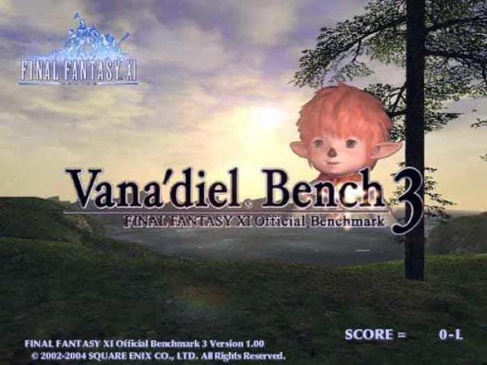 Final Fantasy XI Official BenchMark