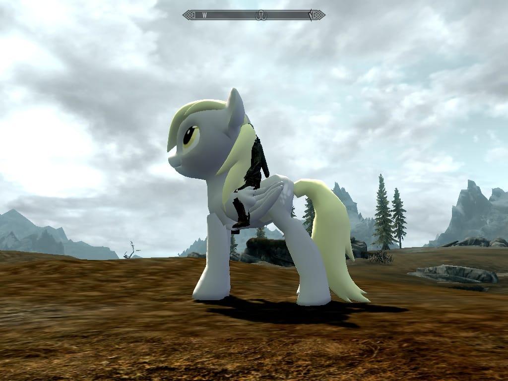 Skyrim Pony Horse Mod