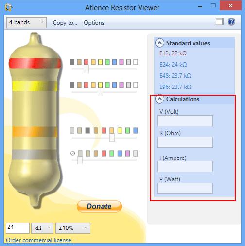 Atlence Resistor Viewer