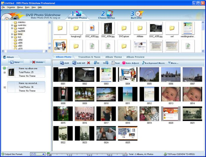 DVD Photo Slideshow Professional