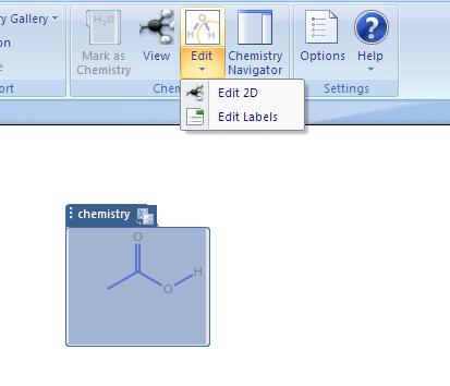 Chemistry Add-in