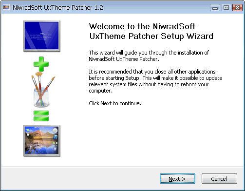 NiwradSoft Uxtheme Patcher