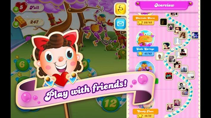 Candy crush soda king gratuit télécharger