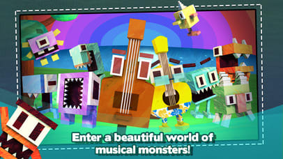Monster Chords: Guitar & Ukulele Fun Learning Game