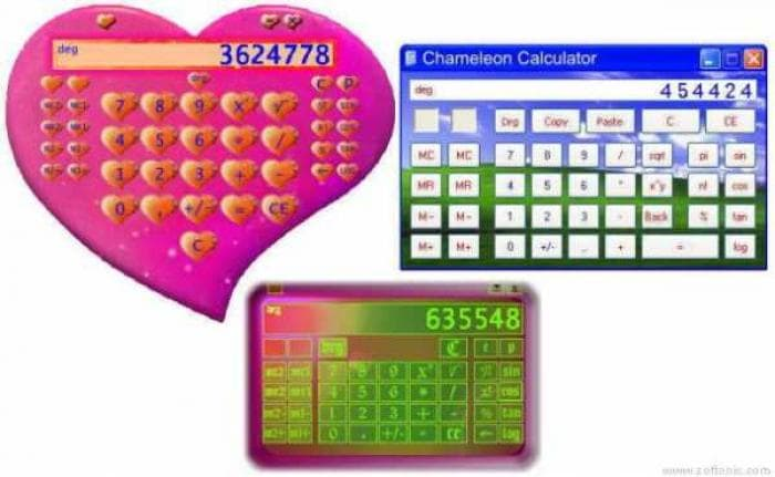 Chameleon Calculator