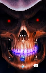 Skull AppLock Theme