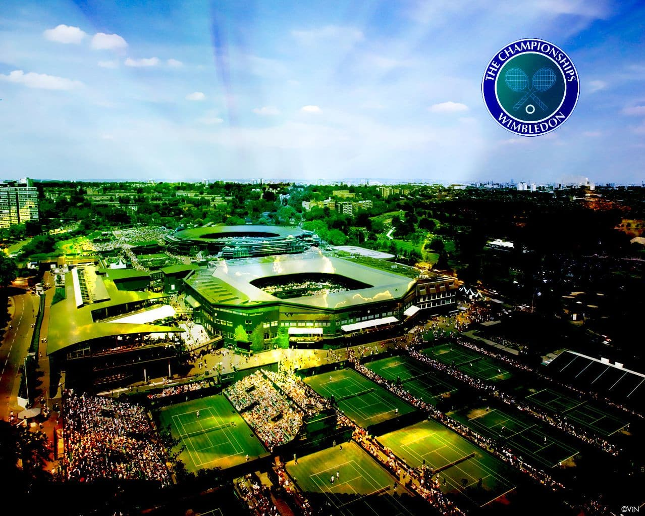 Wimbledon Courts Wallpaper