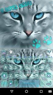 Love Cats Kika Keyboard