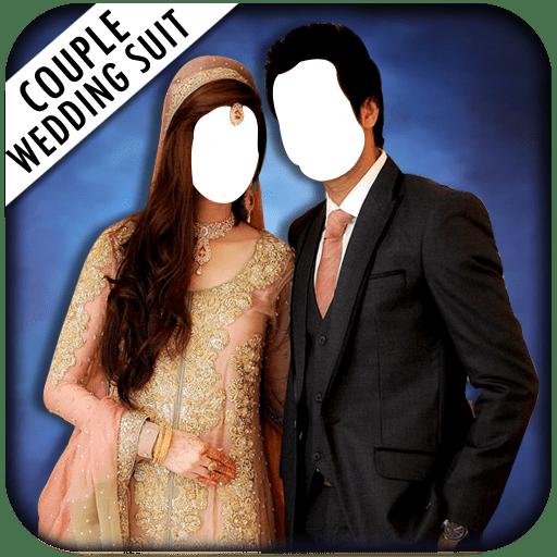 Couple Photo Wedding Suit