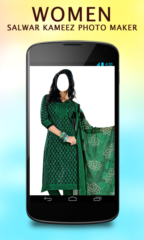 Women Salwar Kameez Photo Maker