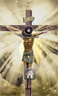 Christian Savior Lock Screen