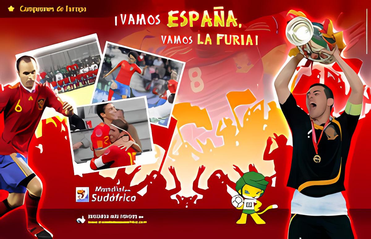 Fondo España Casillas Mundial Sudáfrica 2010