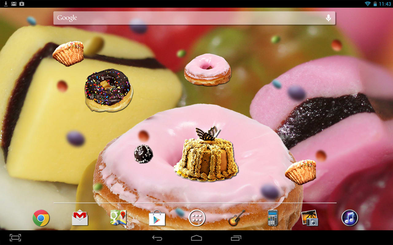 Sweets Live Wallpaper
