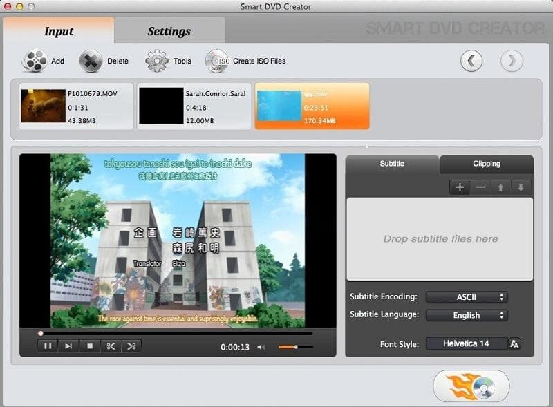 Smart DVD Creator for Mac