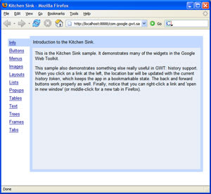 GWT Web Toolkit