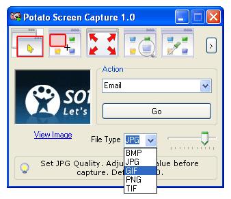 Potato Screen Capture