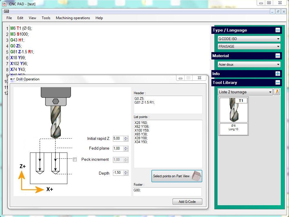Cnc pad download C language online editor