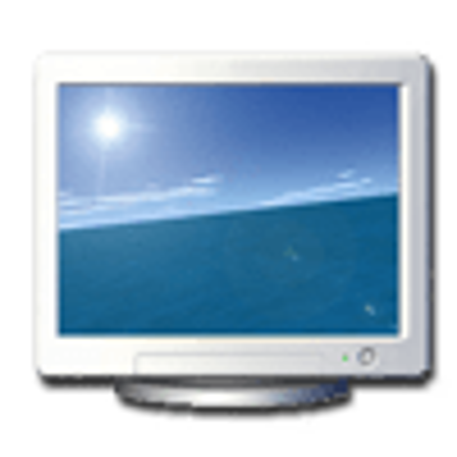 Flight Over Sea Screensaver 2.5