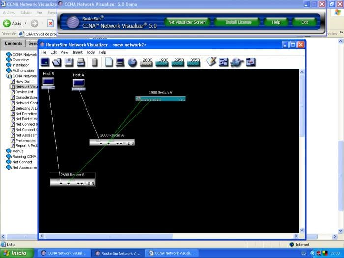 CCNA Network Visualizer