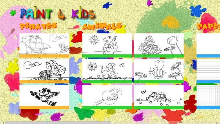 Paint 4 Kids for Windows 8